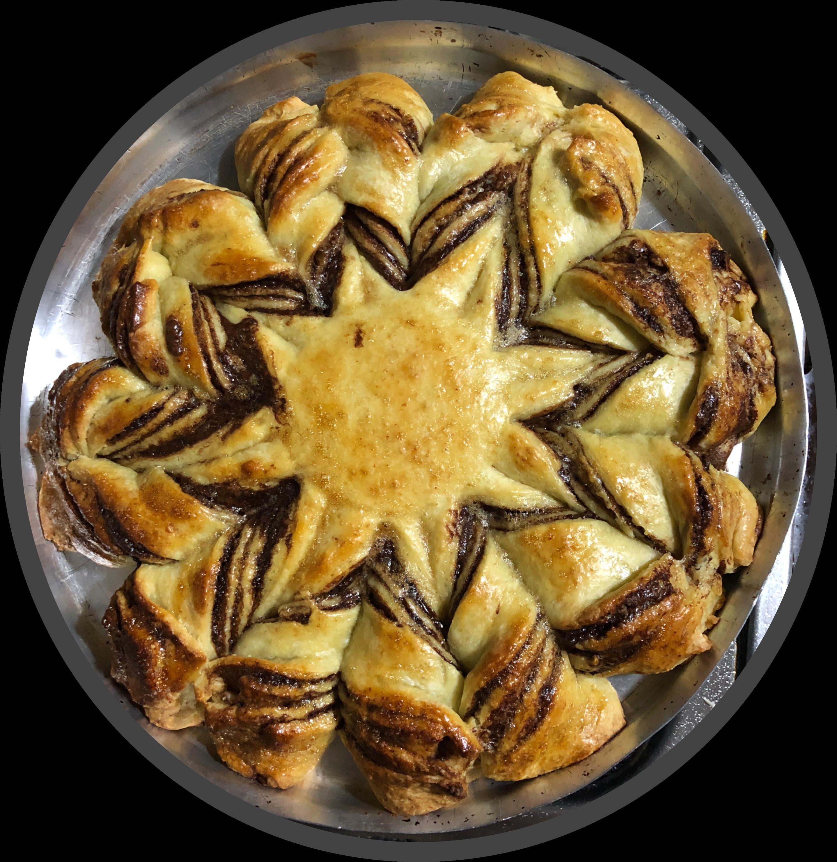 Nutella® Brioche Star Recipe Ranya Zena