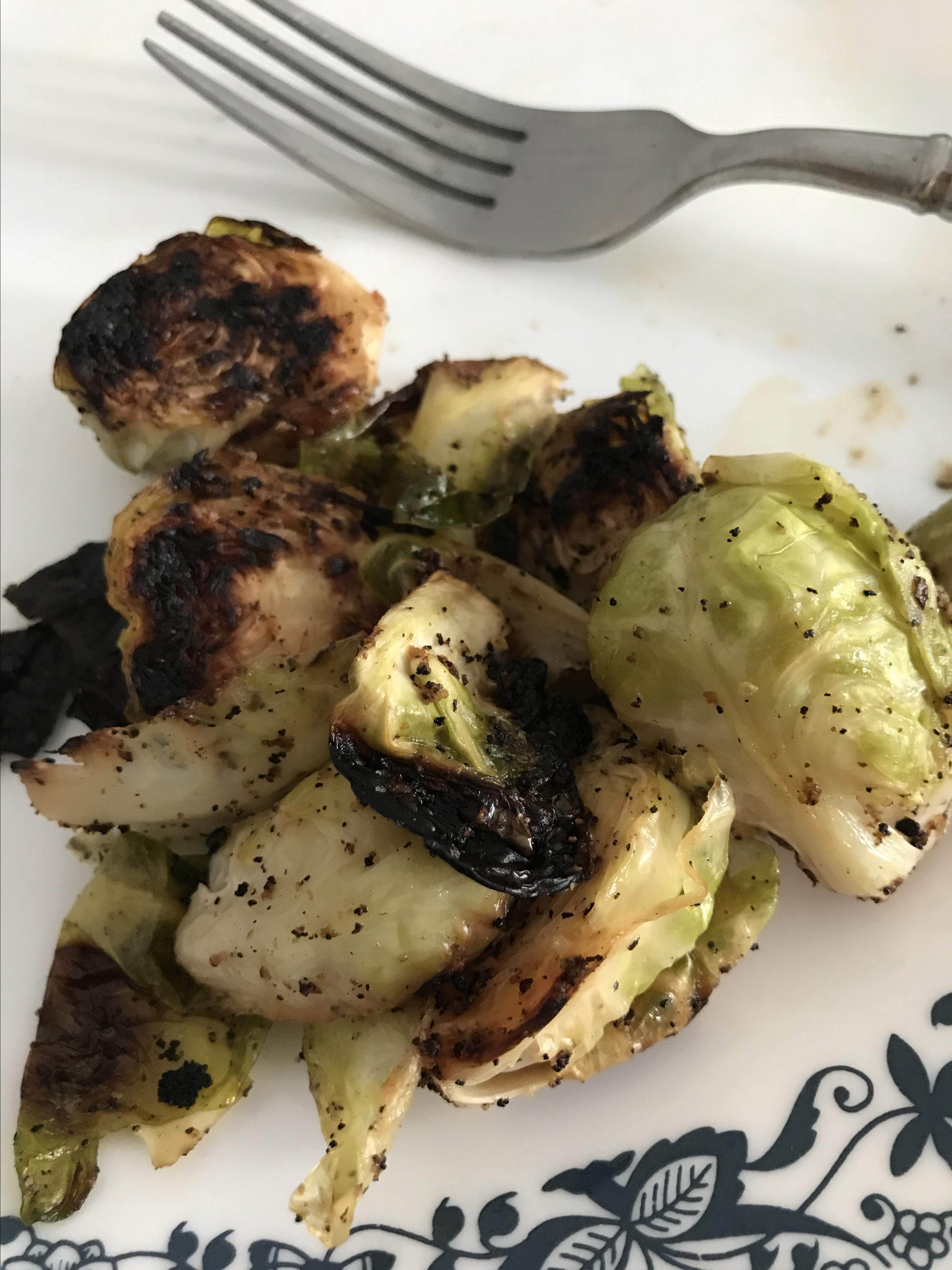 Grilled Brussels Sprouts Sandra Wilson