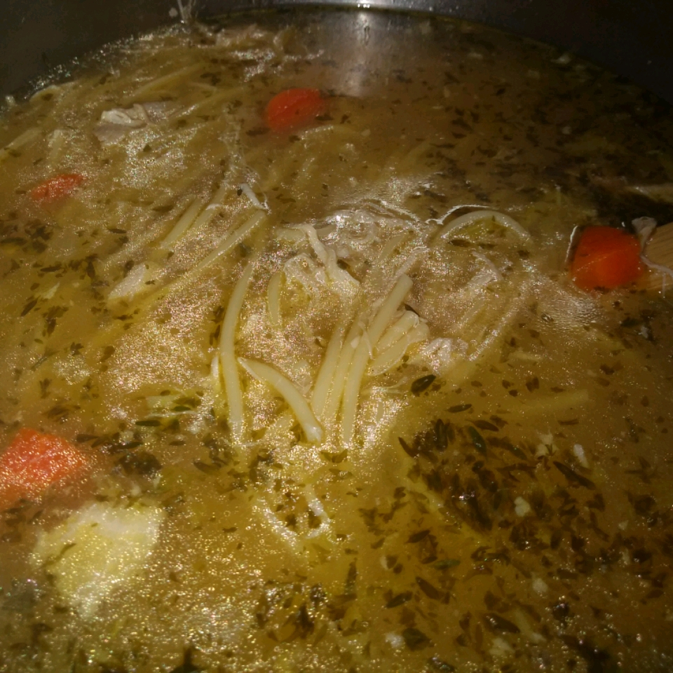 Home Made Chicken Noodle Soup! Tammy Louk