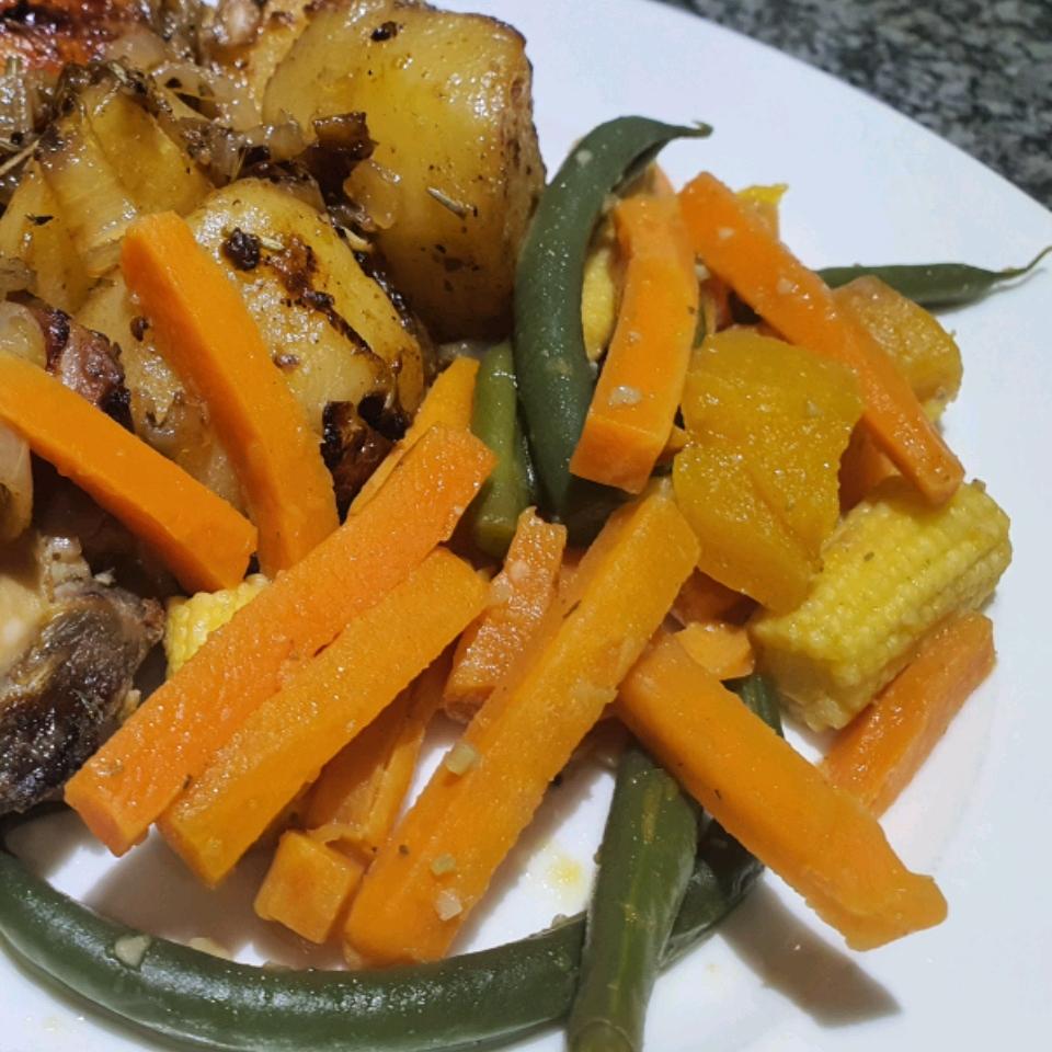 Garlic Seasoned Vegetables Nici