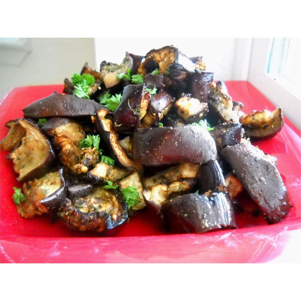 Italian Eggplant Salad Linda T