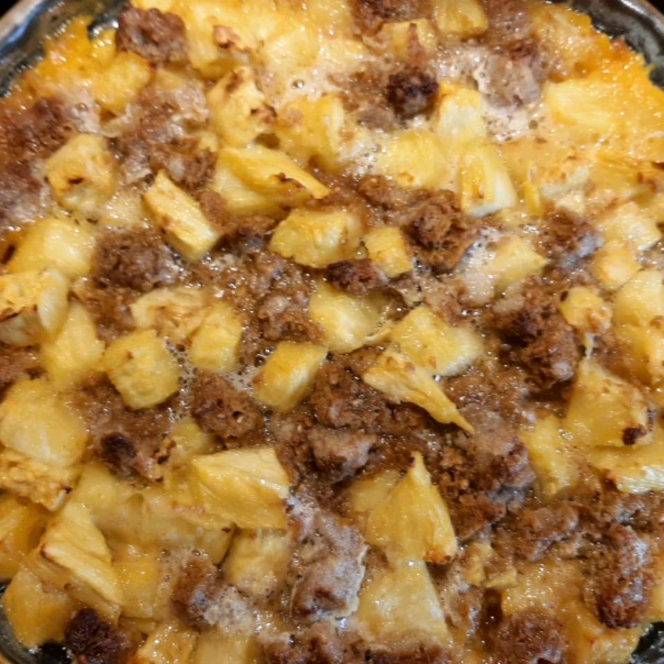 Baked Pineapple Side Dish Roseann