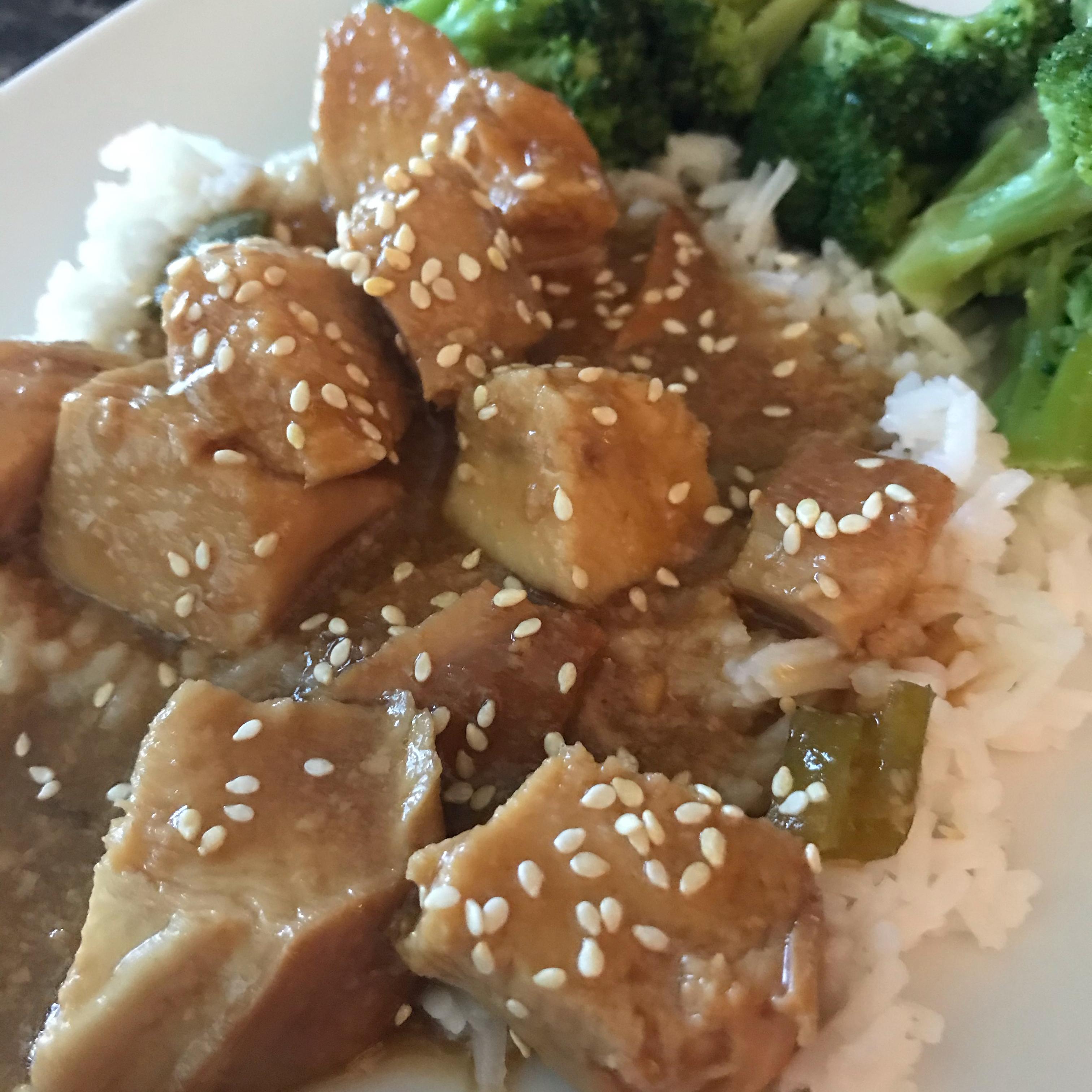 Sesame Chicken for Slow Cooker