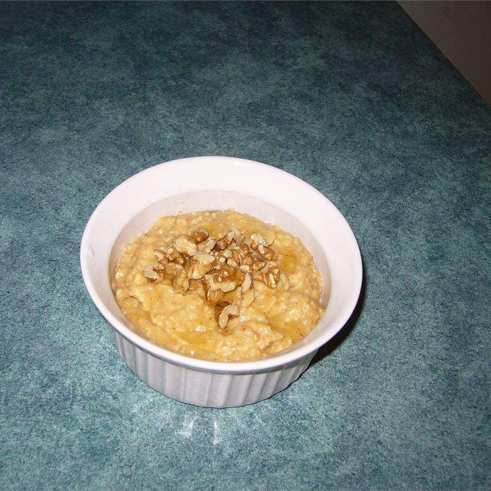 Vegan Pumpkin Oatmeal 5Foot3
