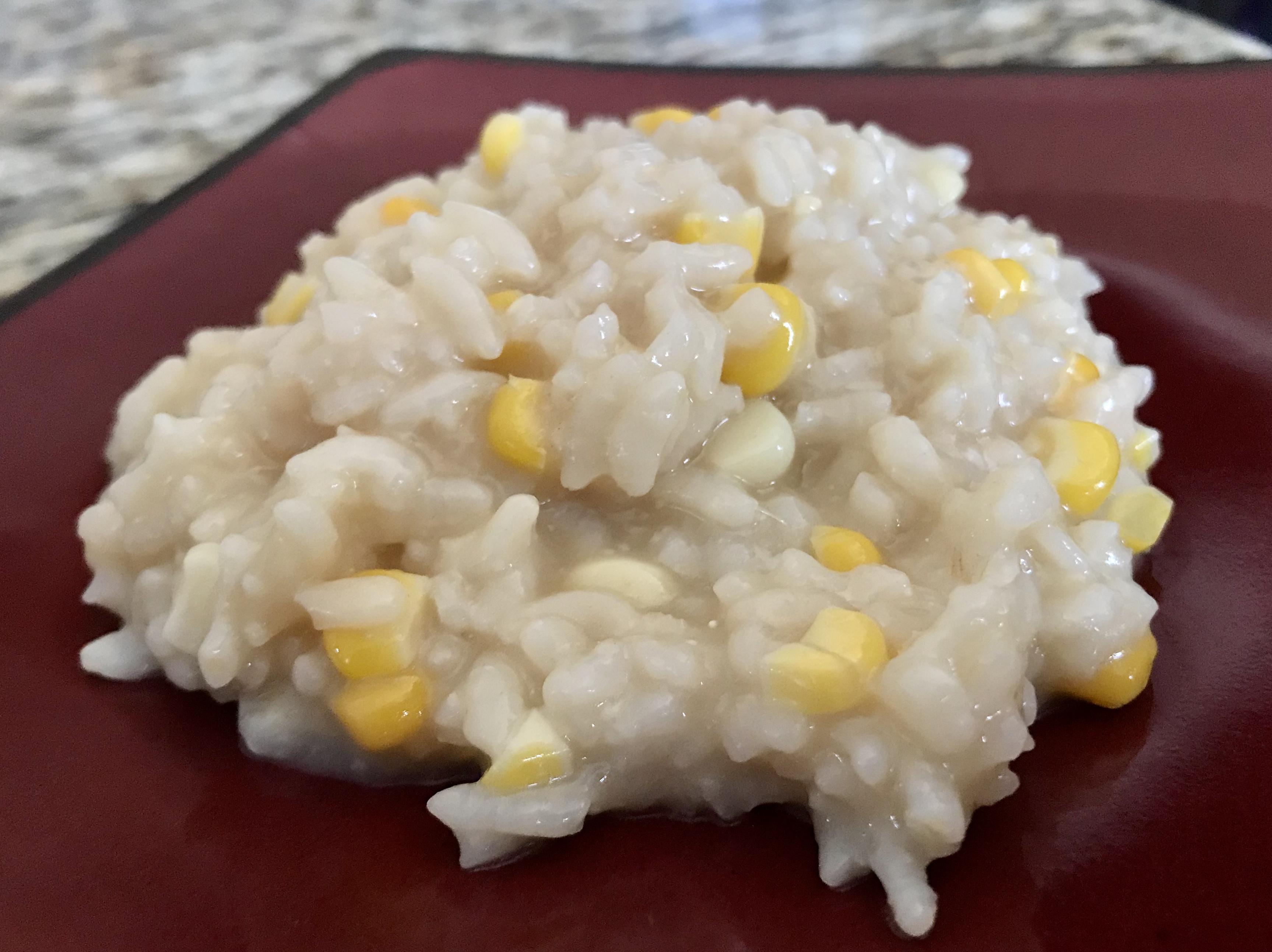 Instant Pot® Fresh Corn Risotto AprilJ