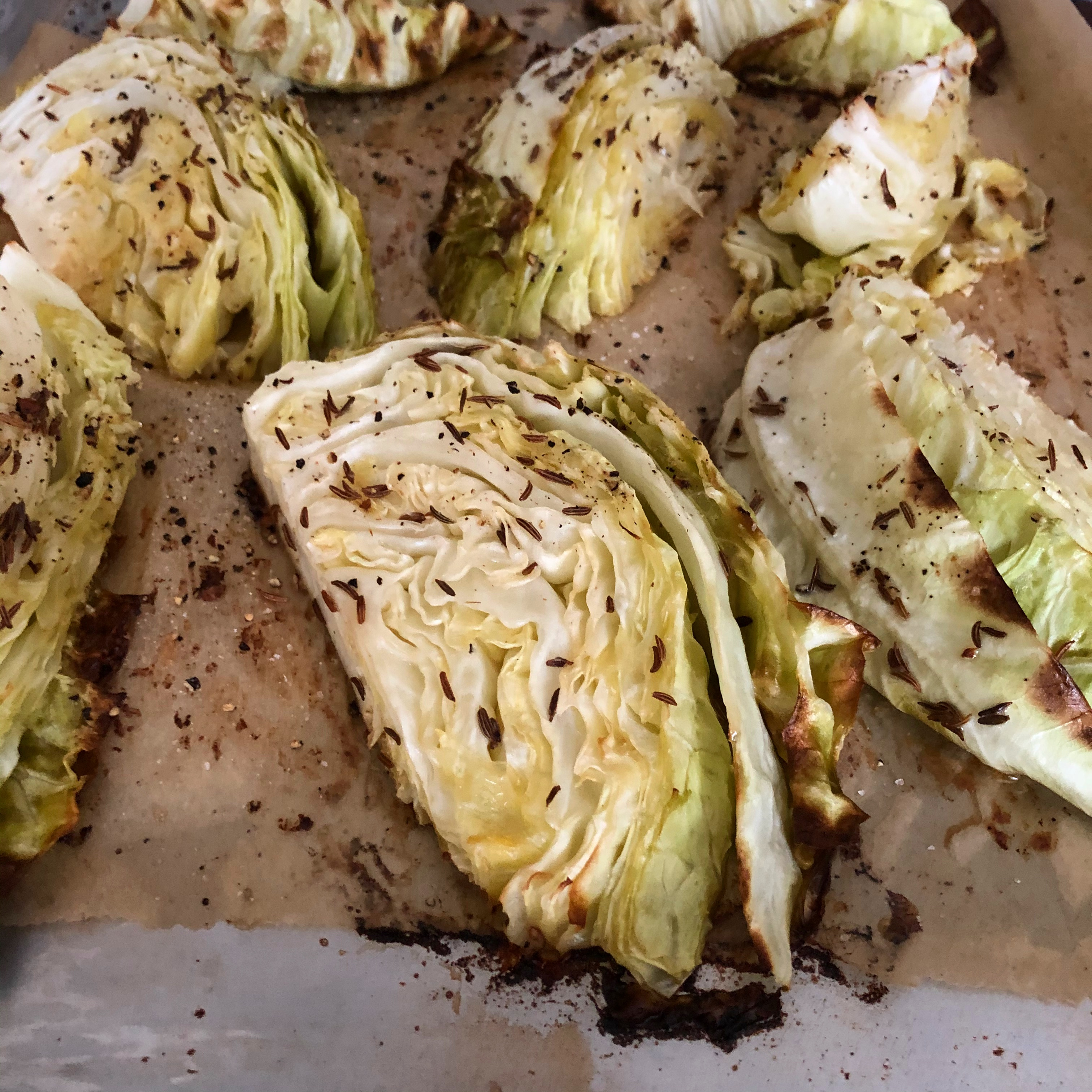 Roasted Cabbage Wedges LauraF