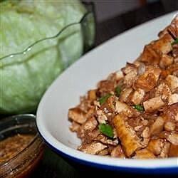 vegetarian tofu lettuce wraps recipe