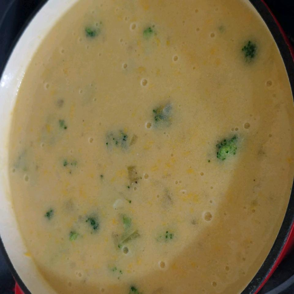 Cream of Broccoli Soup II Louise King