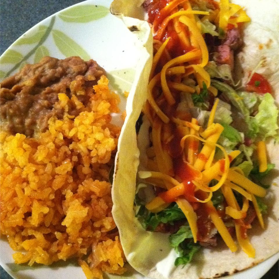Arrachera (Skirt Steak Taco Filling)