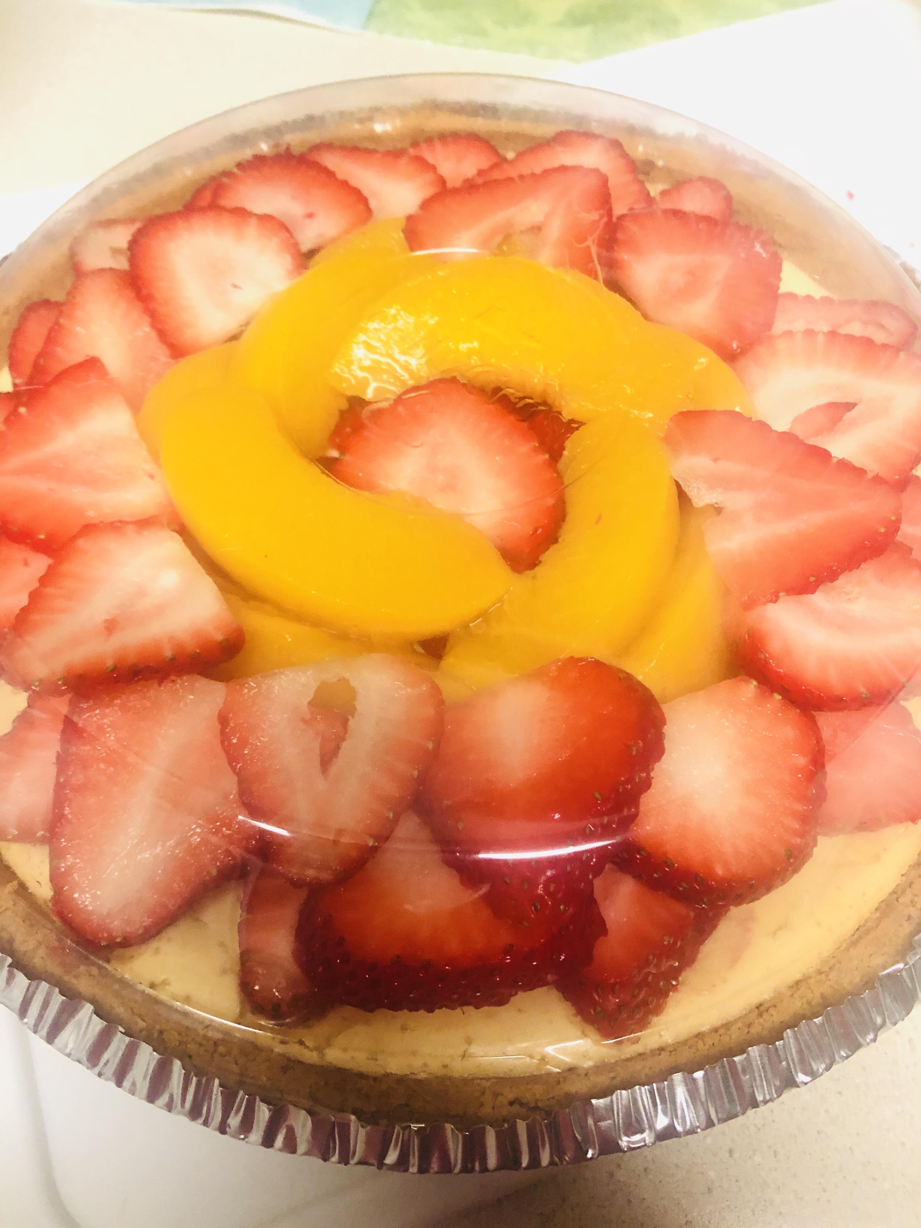 Creamy Baked Cheesecake andrea