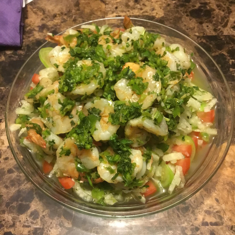 Shrimp, Jicama and Chile Vinegar Salad WhiteCoatSyndrome