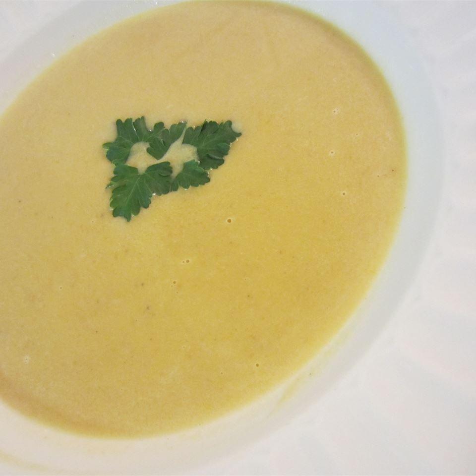Butternut Squash and Turnip Soup pelicangal
