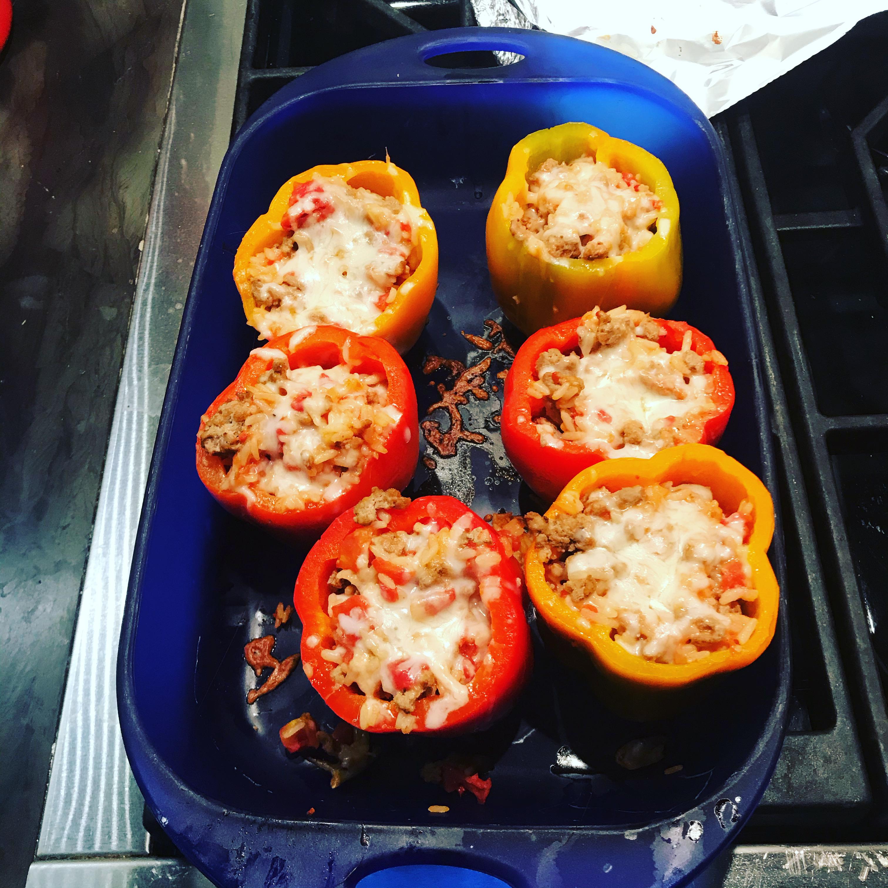 Stuffed Orange Peppers