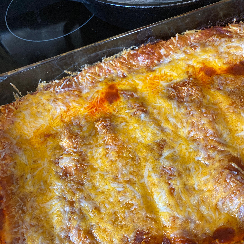 Beef Enchiladas with Homemade Sauce Joanne Marselle Rasmussen