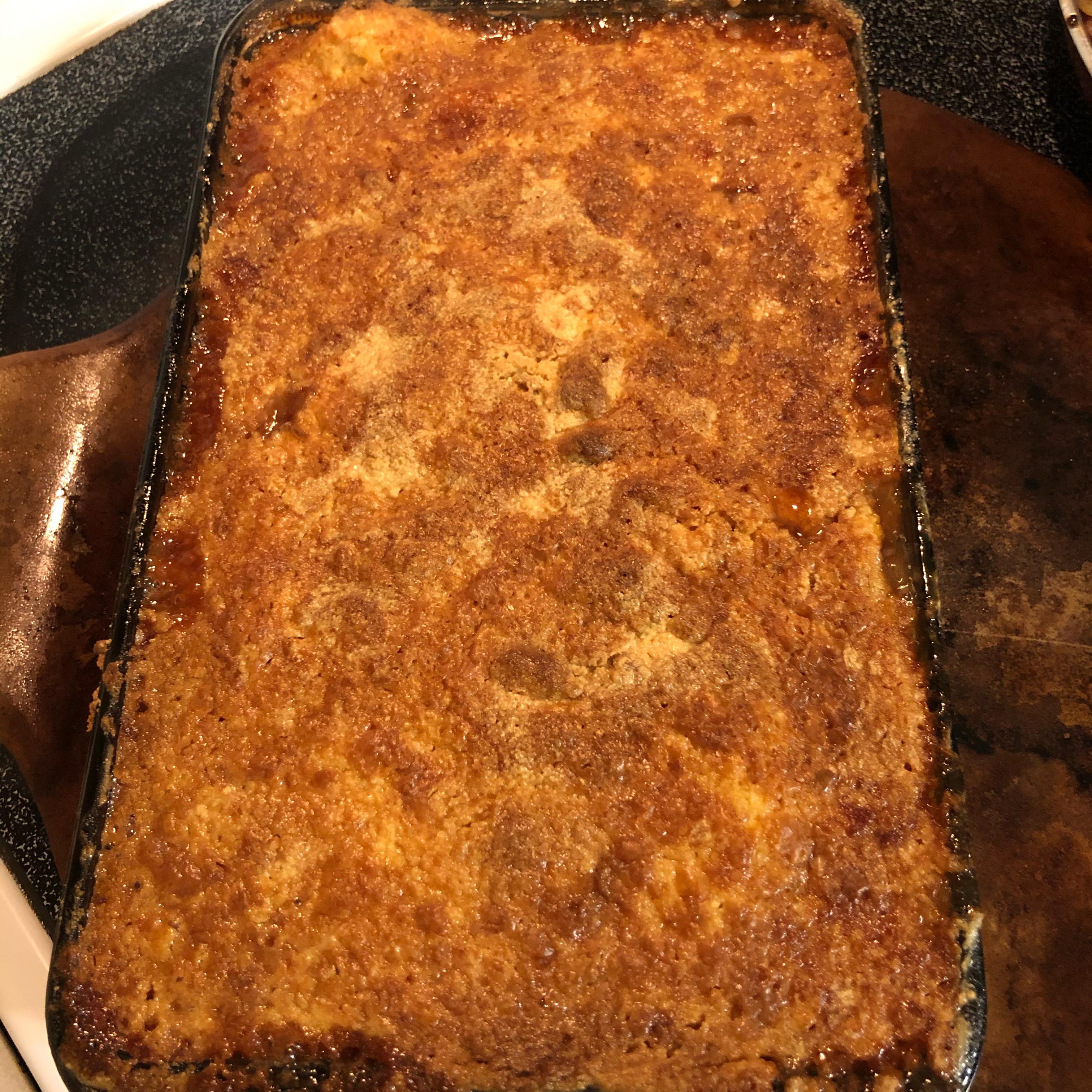 Apple Pie Cake-Mix Cake Angie Peters