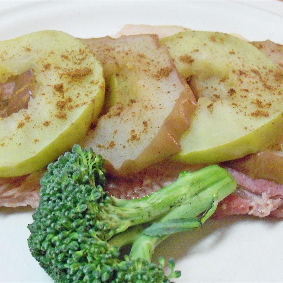 Autumn Spice Ham Steak wannabe chefette
