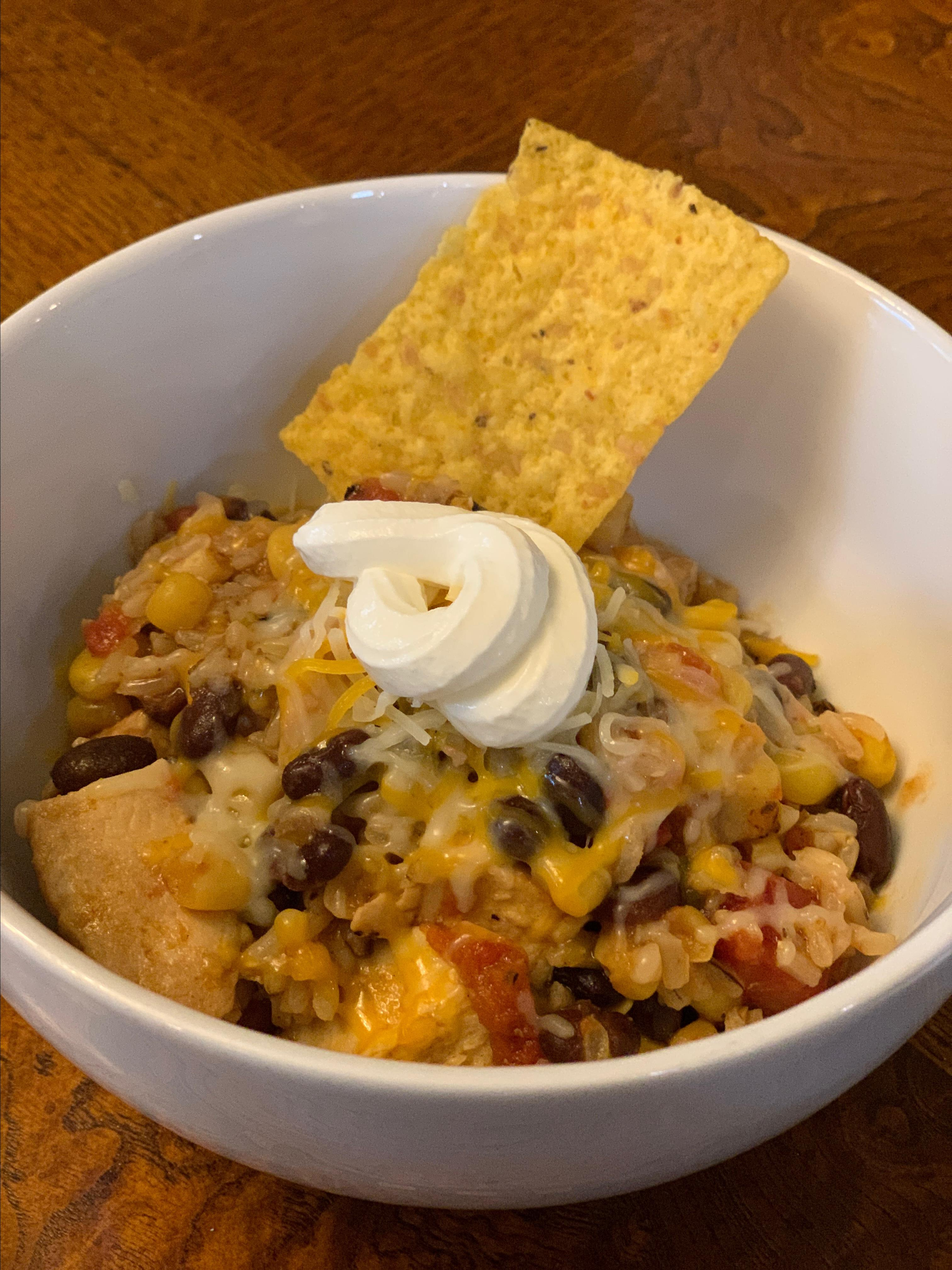Instant Pot® Mexican Chicken and Rice Bowls Jennifer Mreen Holmes