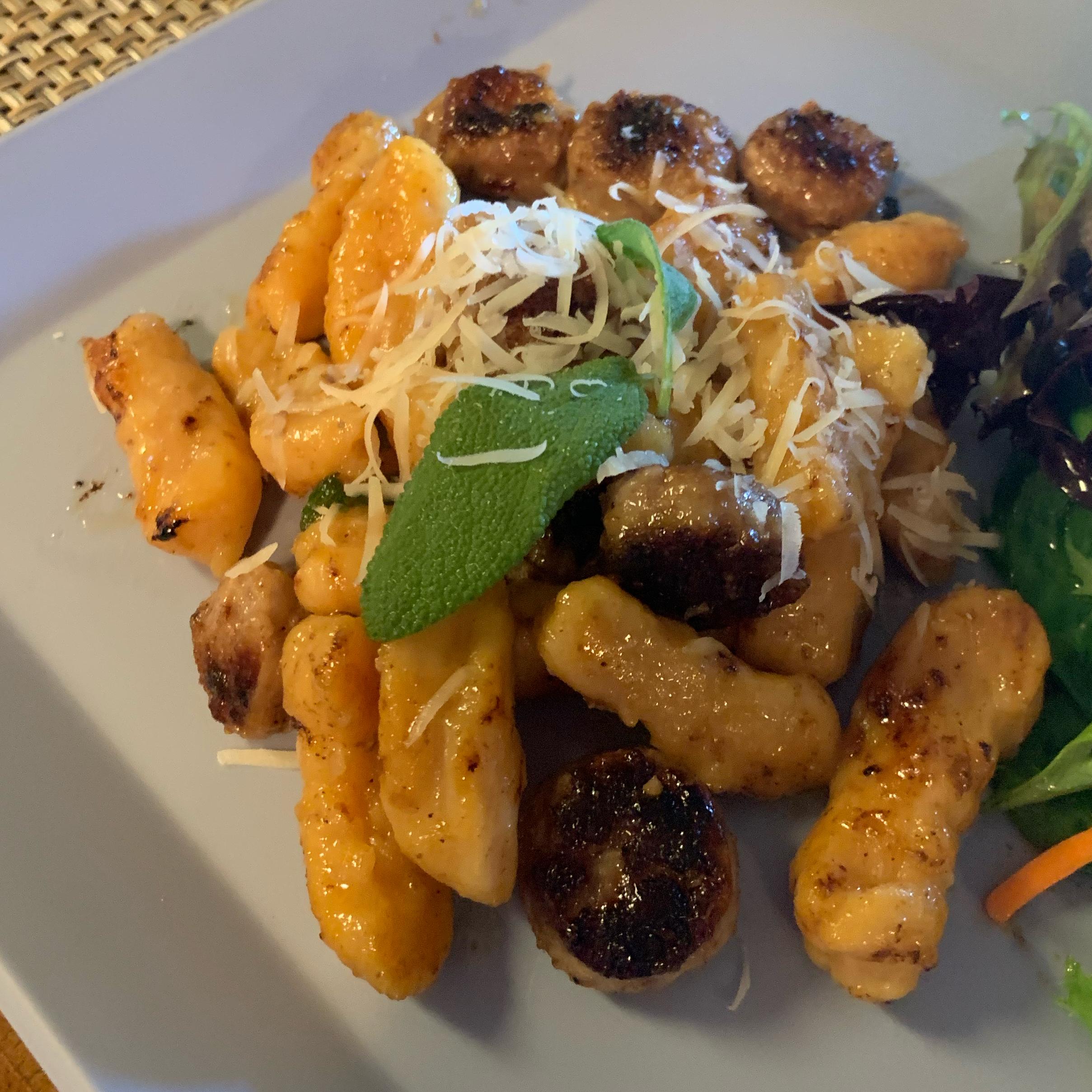 Sweet Potato Gnocchi with Sage-Butter Sauce Ana Cristina Wray