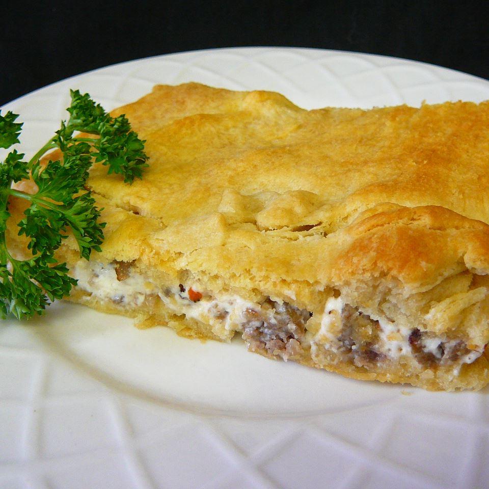 Simple Sausage Casserole