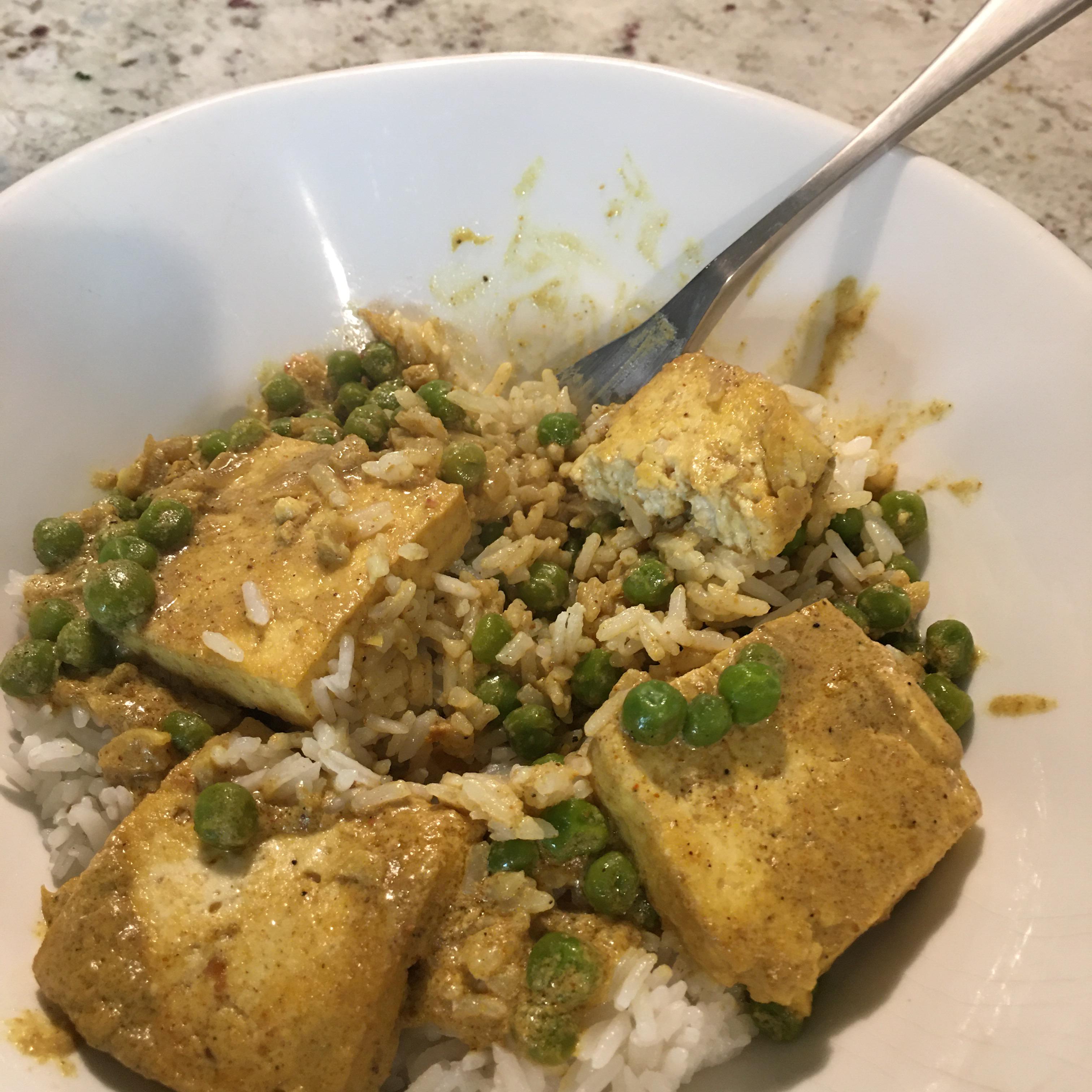 Thai Curry Tofu RocksGirl
