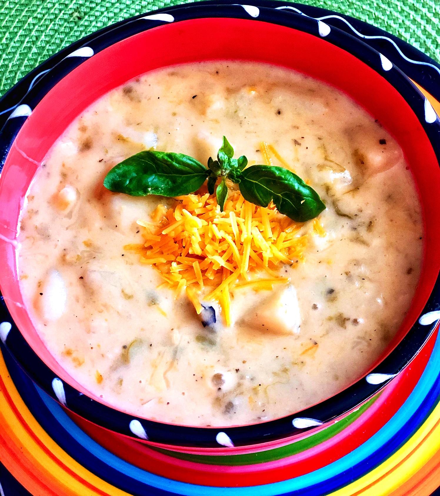 Potato and Green Chile Soup