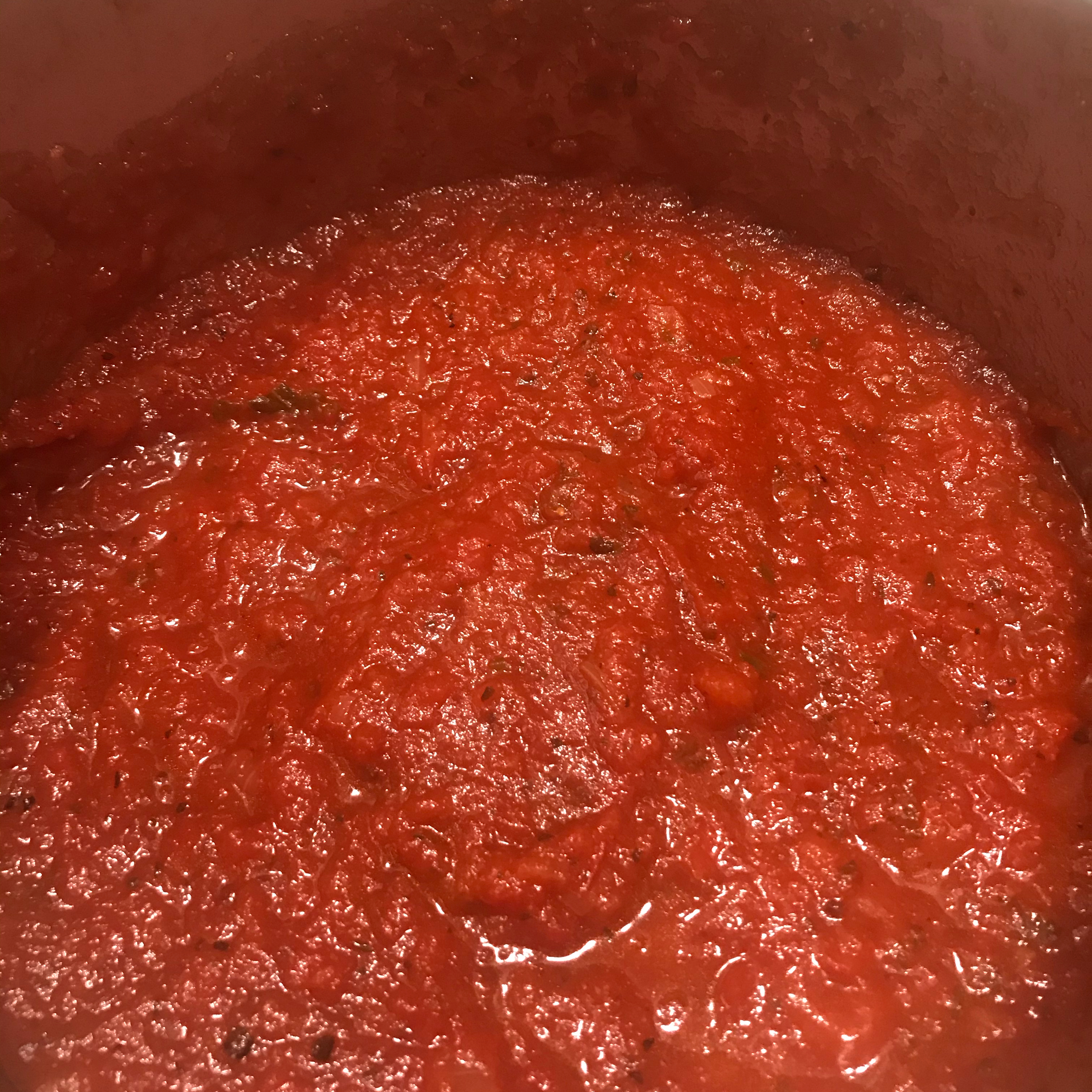Spaghetti Sauce with Fresh Tomatoes
