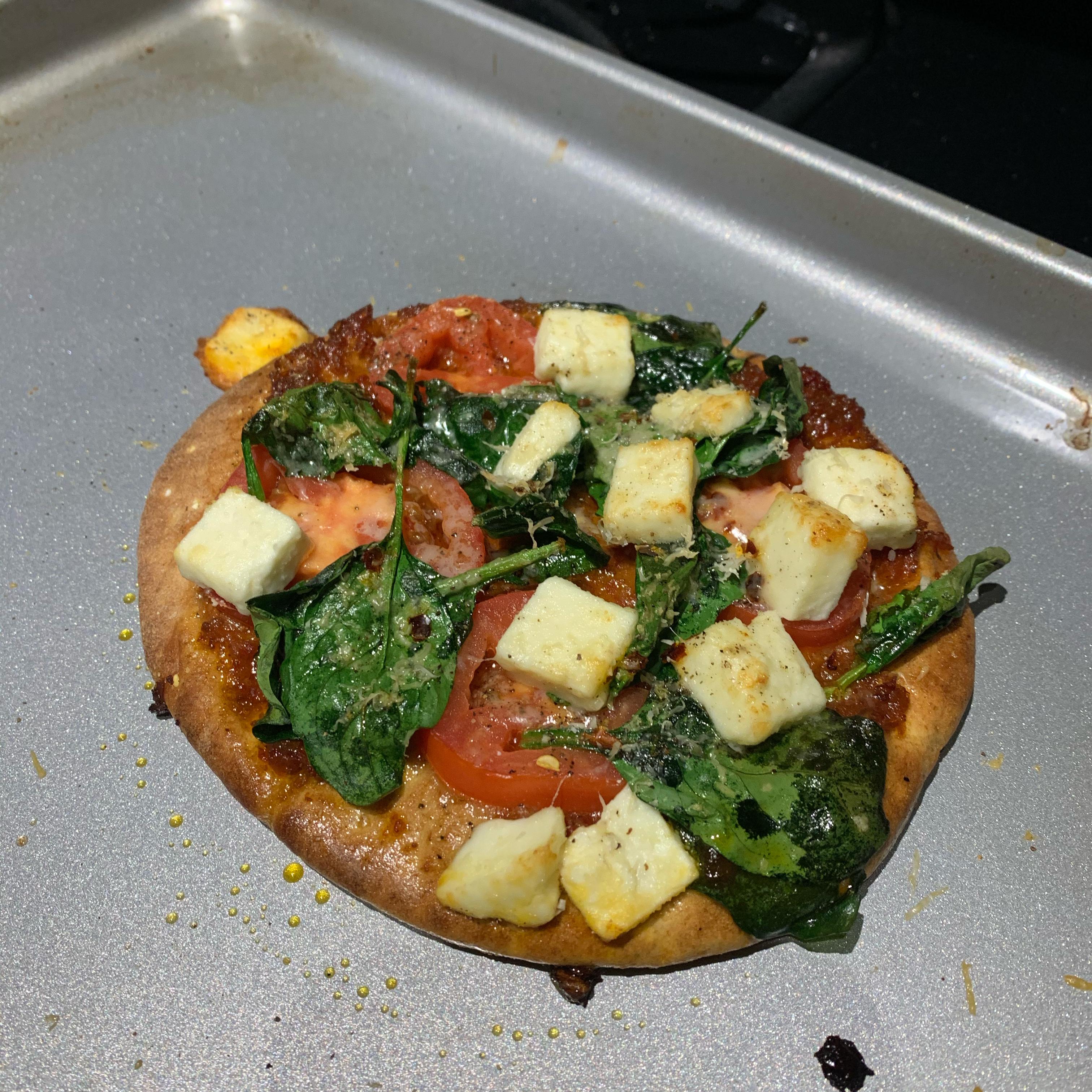 Spinach and Feta Pita Bake Pat J
