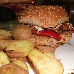 Grilled Chicken Burgers ack