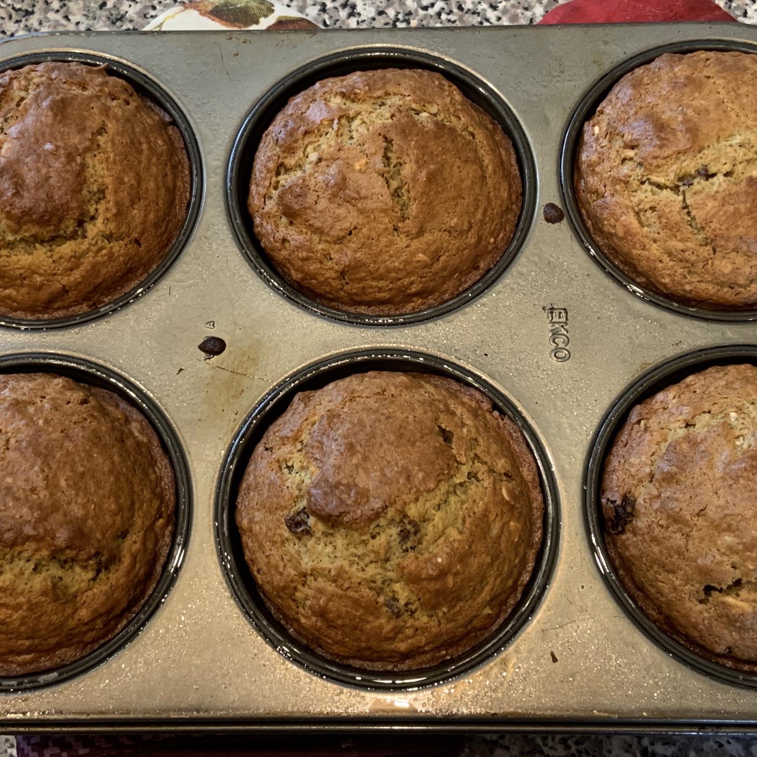 Date Flecked Orange Muffins Kevin Duchscherer