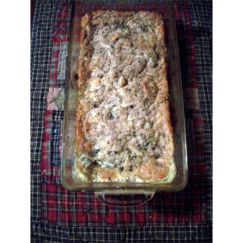 Baked Spinach DDeazy