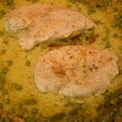 Yellow Rice with Meat ~TxCin~ILove2Ck