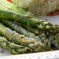Roasted Asparagus with Parmesan Baking Nana