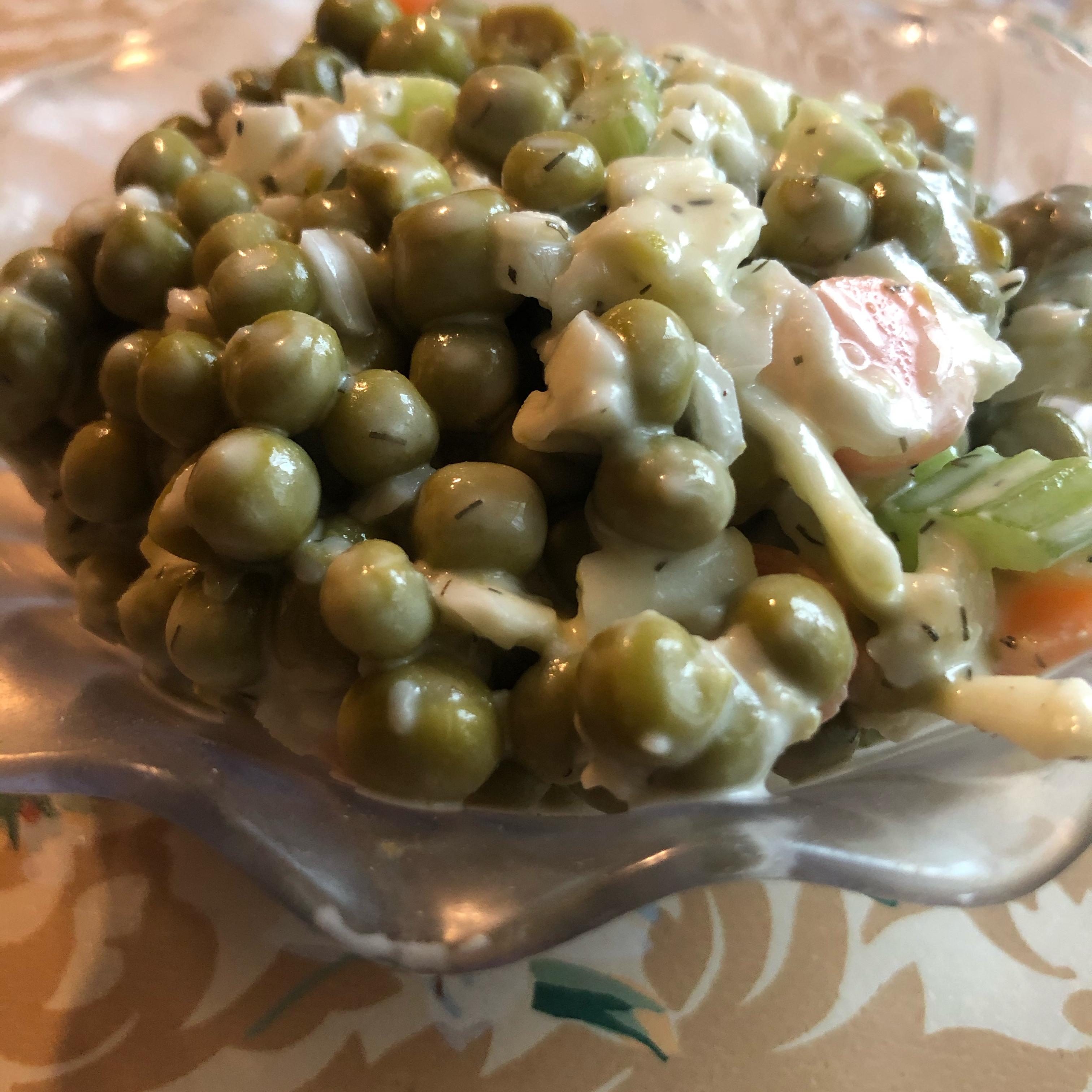 Mama's Pea Salad Adcorner