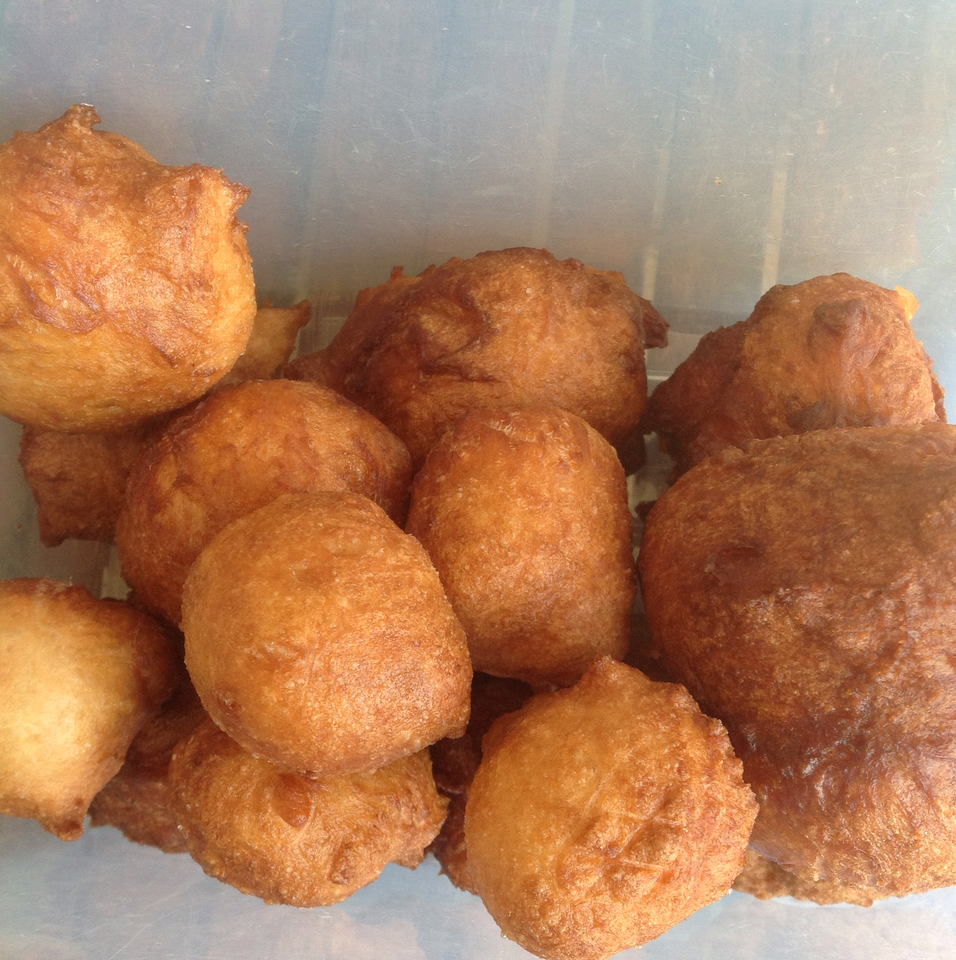 South African Traditional Vetkoek (Fried Bread) cognito