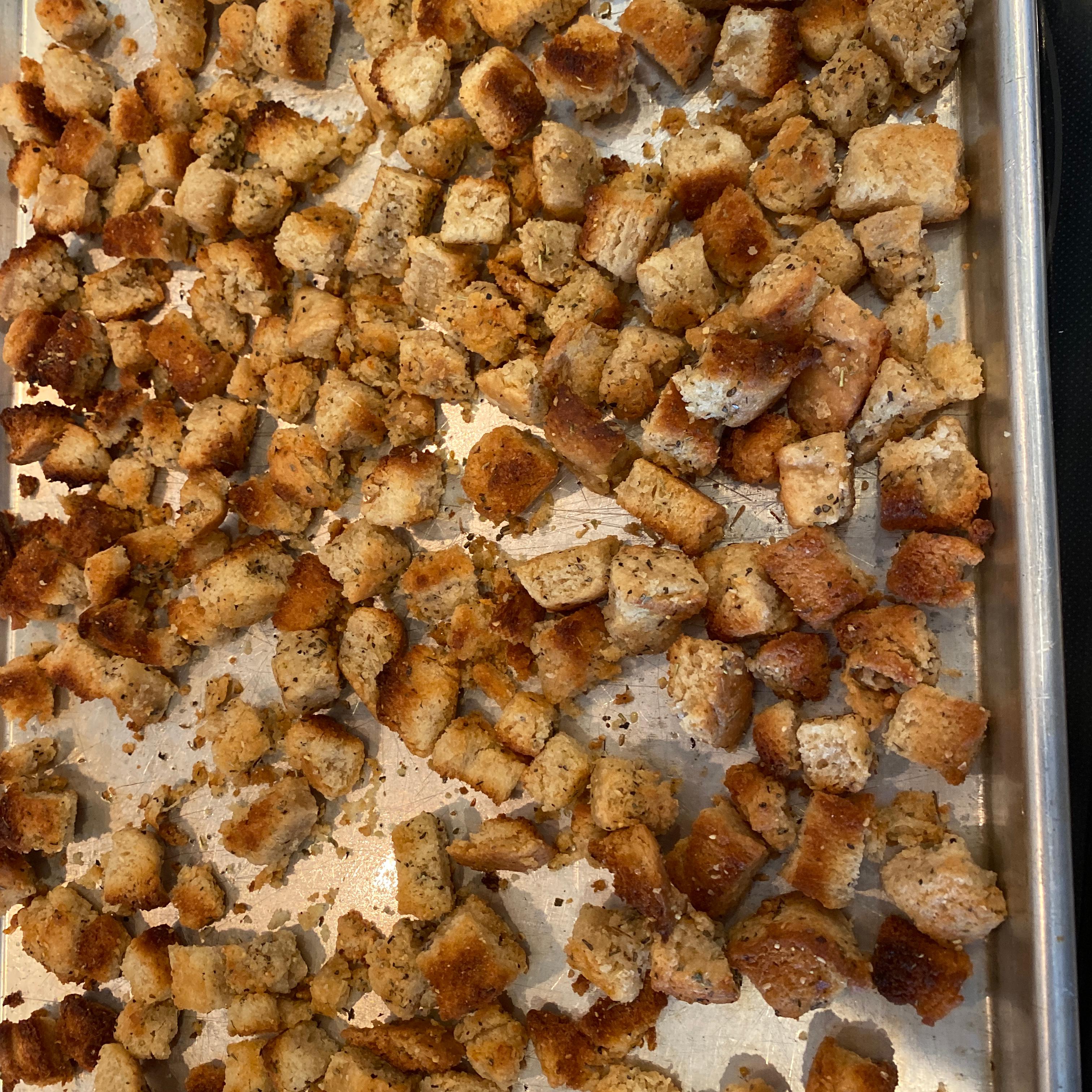 Sourdough Croutons Marketta
