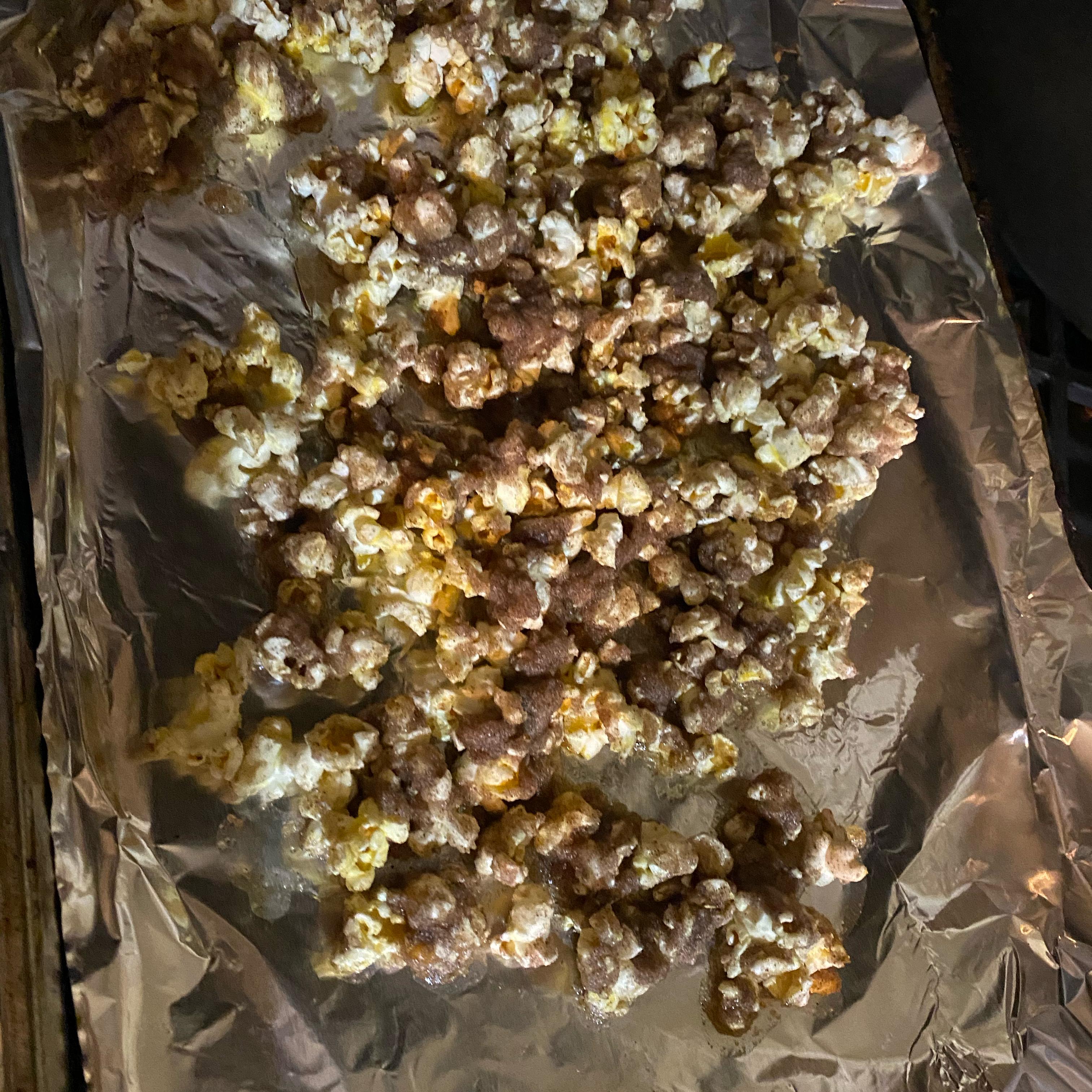 Cinnamon-Sugar Popcorn Sana Raza