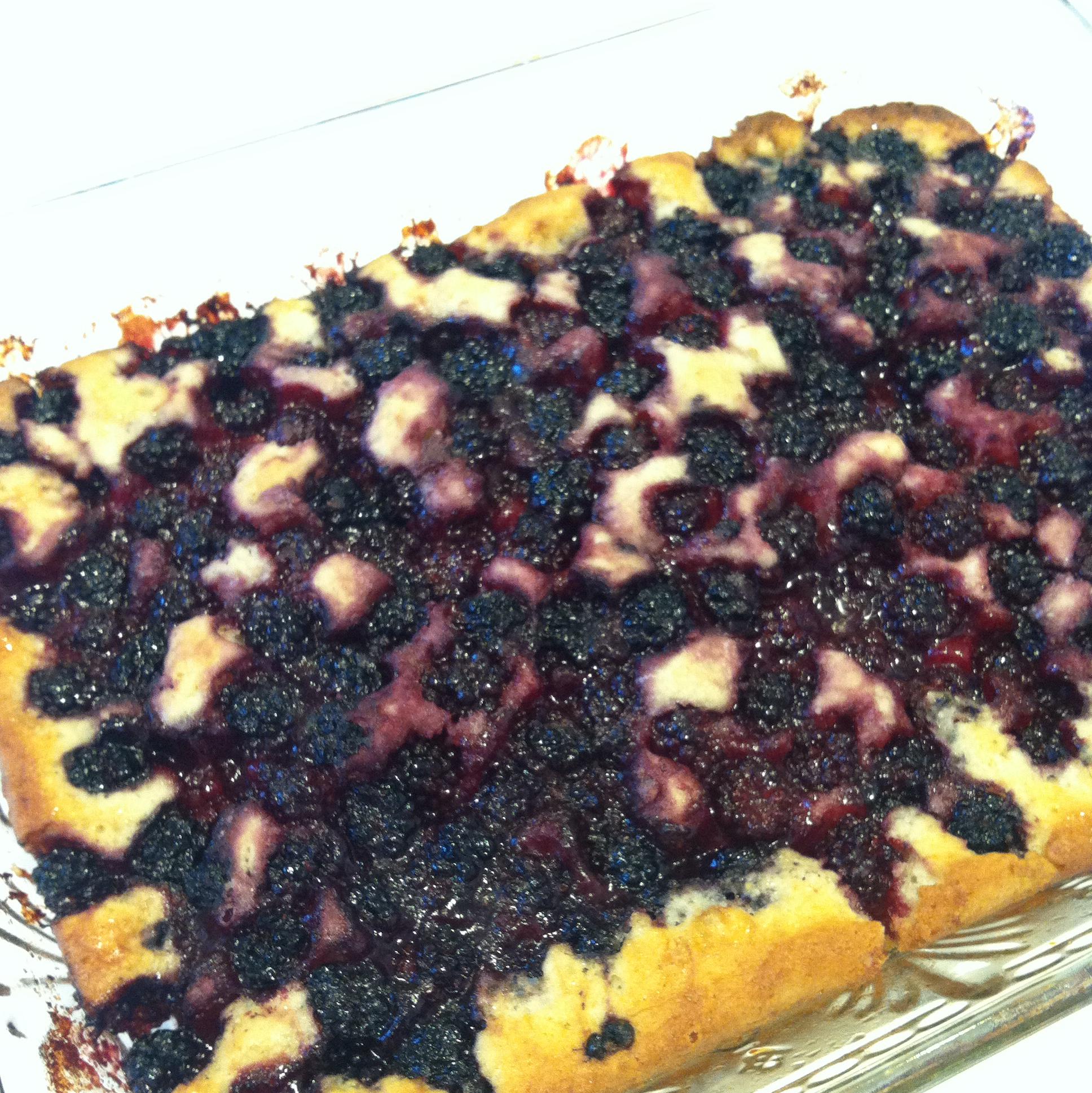 Chef John's Blackberry Buckle