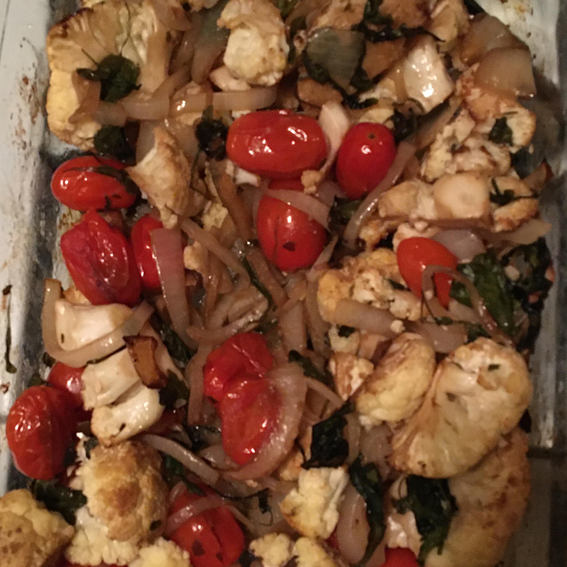Italian Roasted Cauliflower LJ.