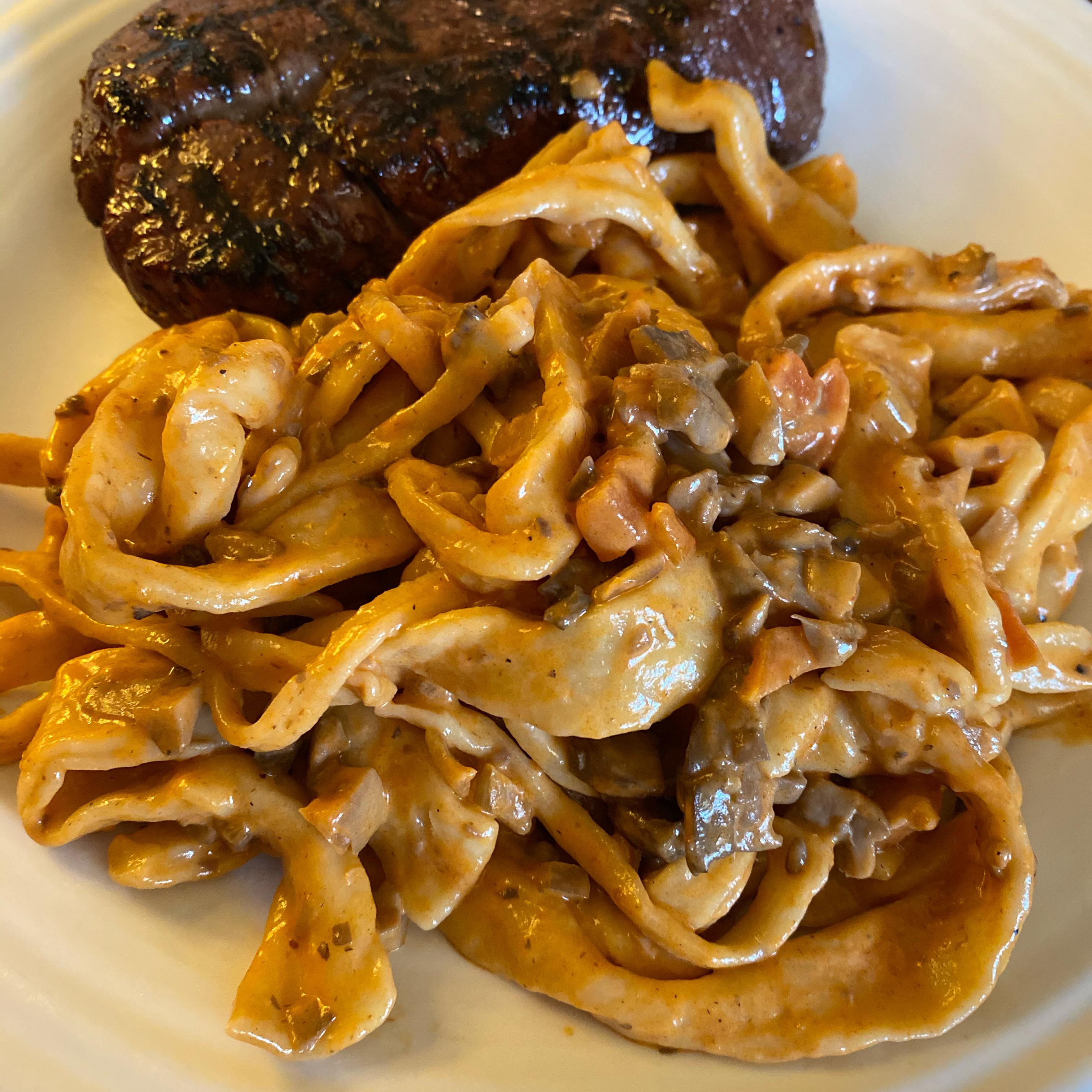 Mushroom Bolognese Kaitlyn Marchand