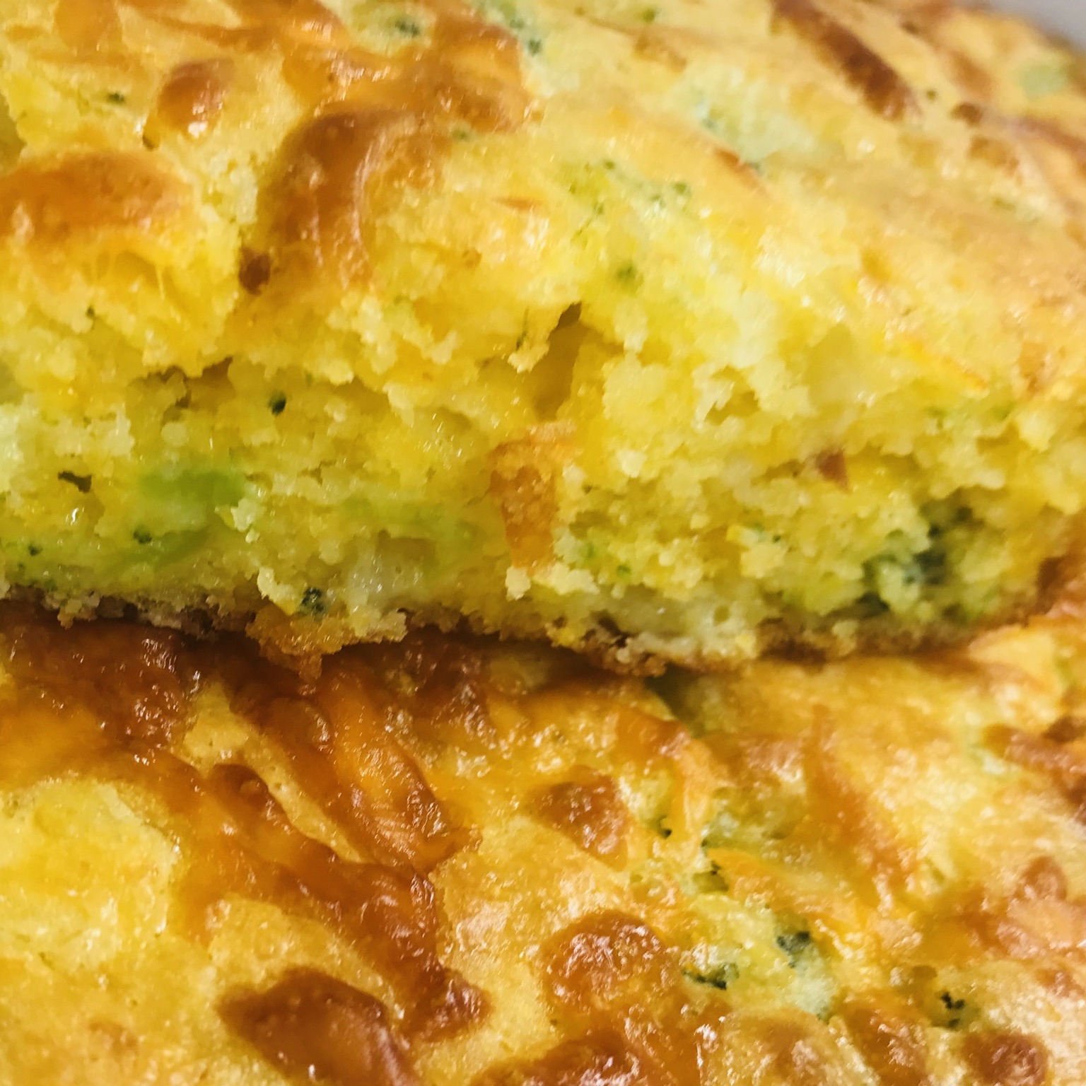 Broccoli Cornbread with Cheese yummytummy