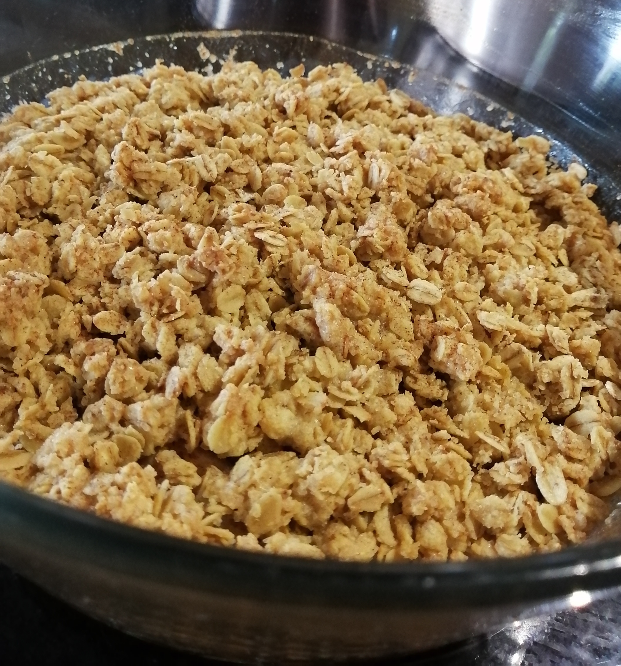 Apple and Pear Crumble Mpho Adelaide Maponya