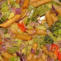 Penne Pasta with Veggies msghd