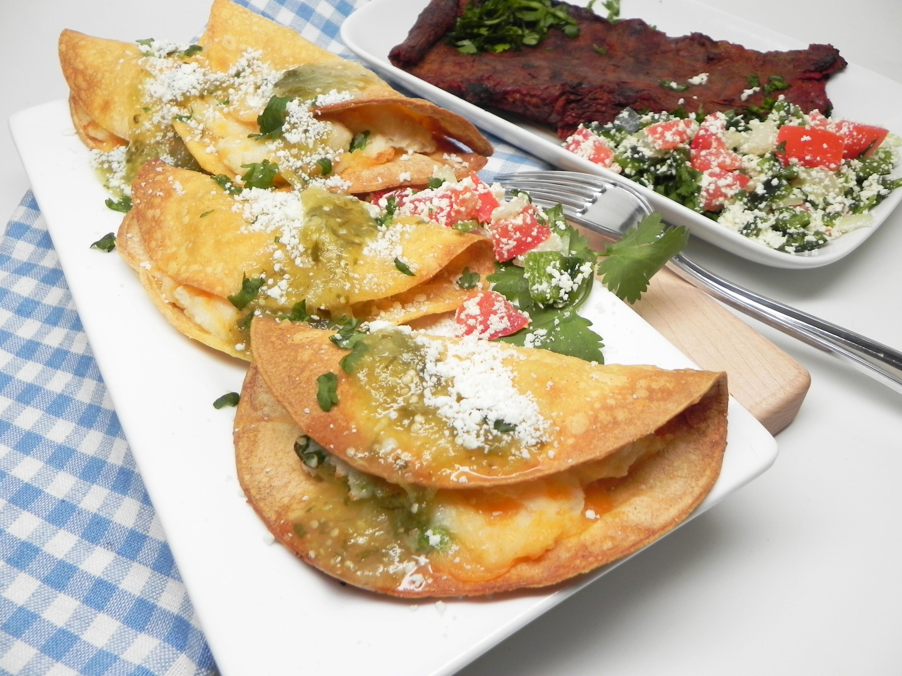 Air Fryer Tacos de Papa