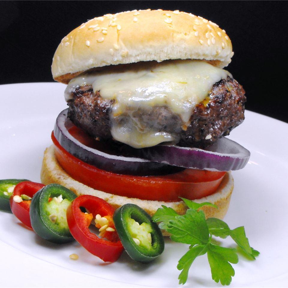 Jalapeno-Garlic-Onion Cheeseburgers