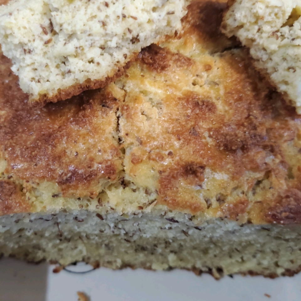 Almond Flour Bread Loaf with Parmesan