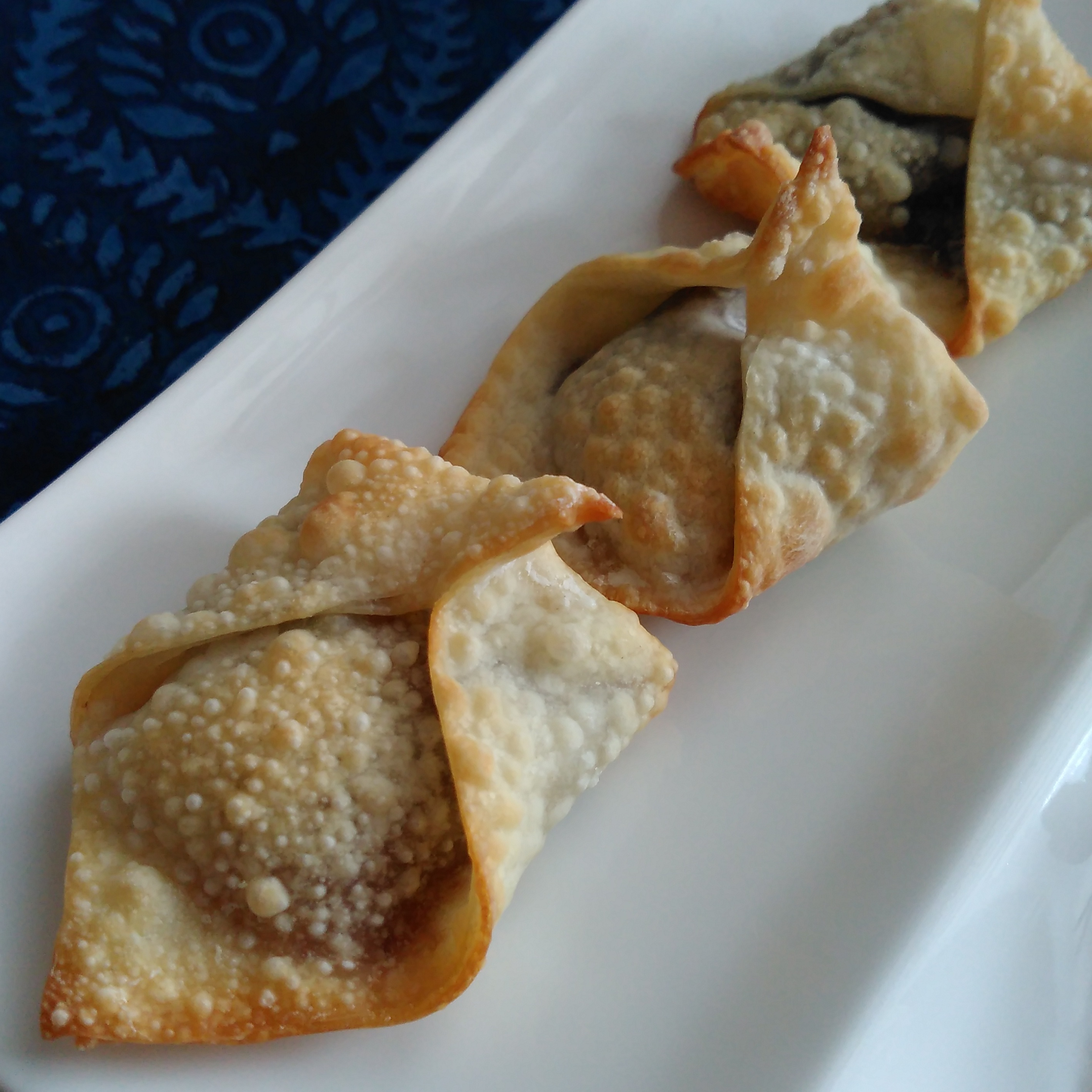 Air Fryer Nutella®-Stuffed Wontons