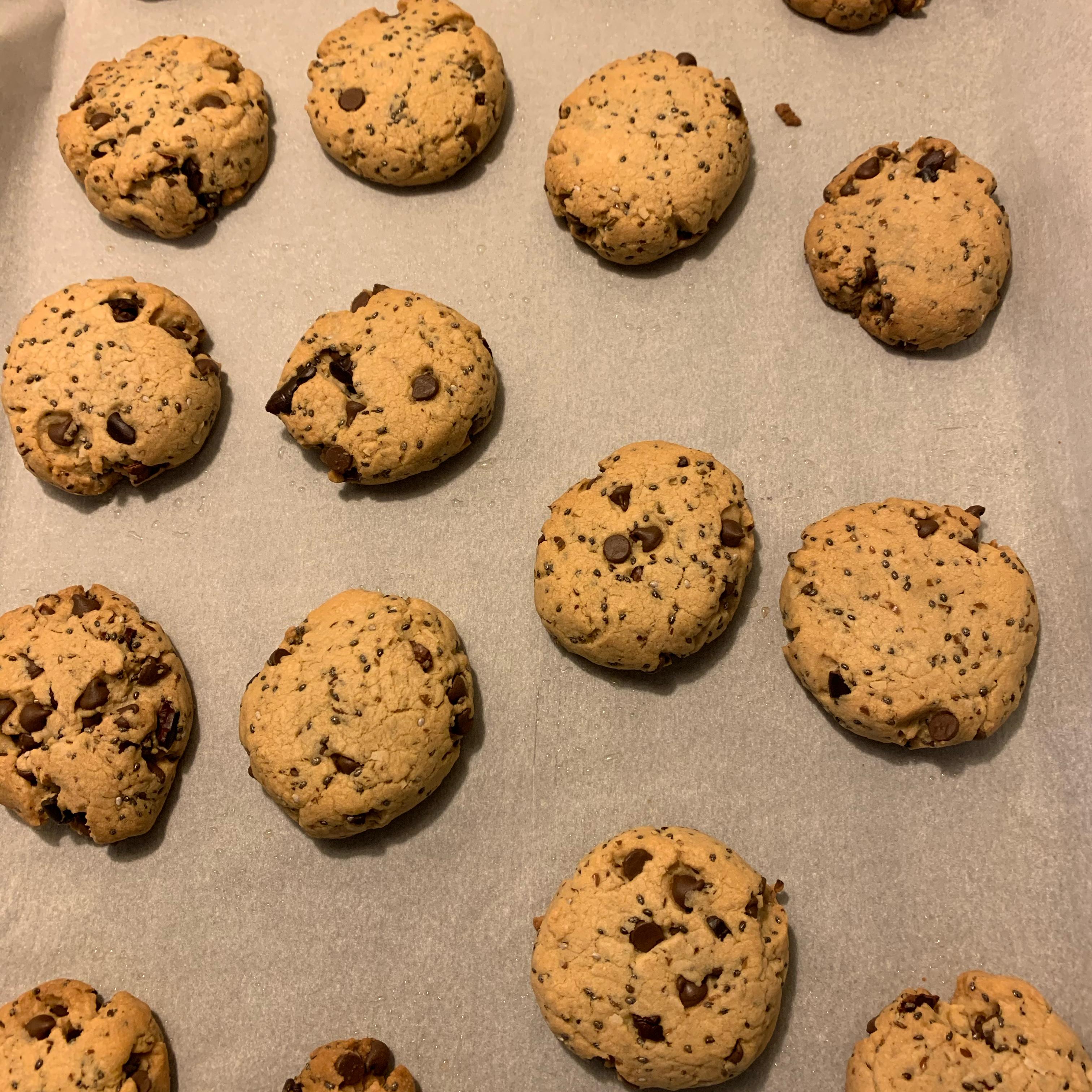 Super Food Chocolate Chip Cookies