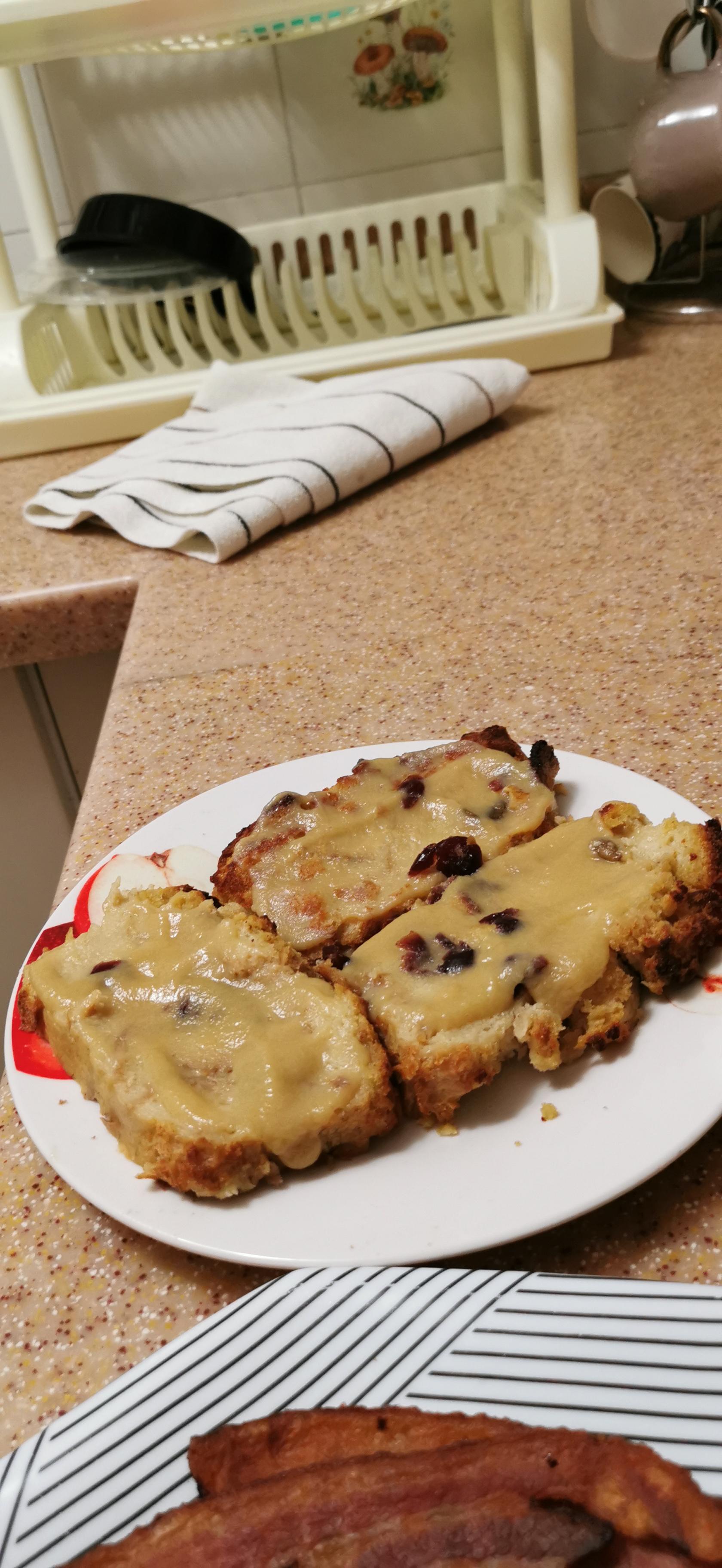Sugar-Free Bread Pudding with Whiskey Sauce Maria Koumentakos