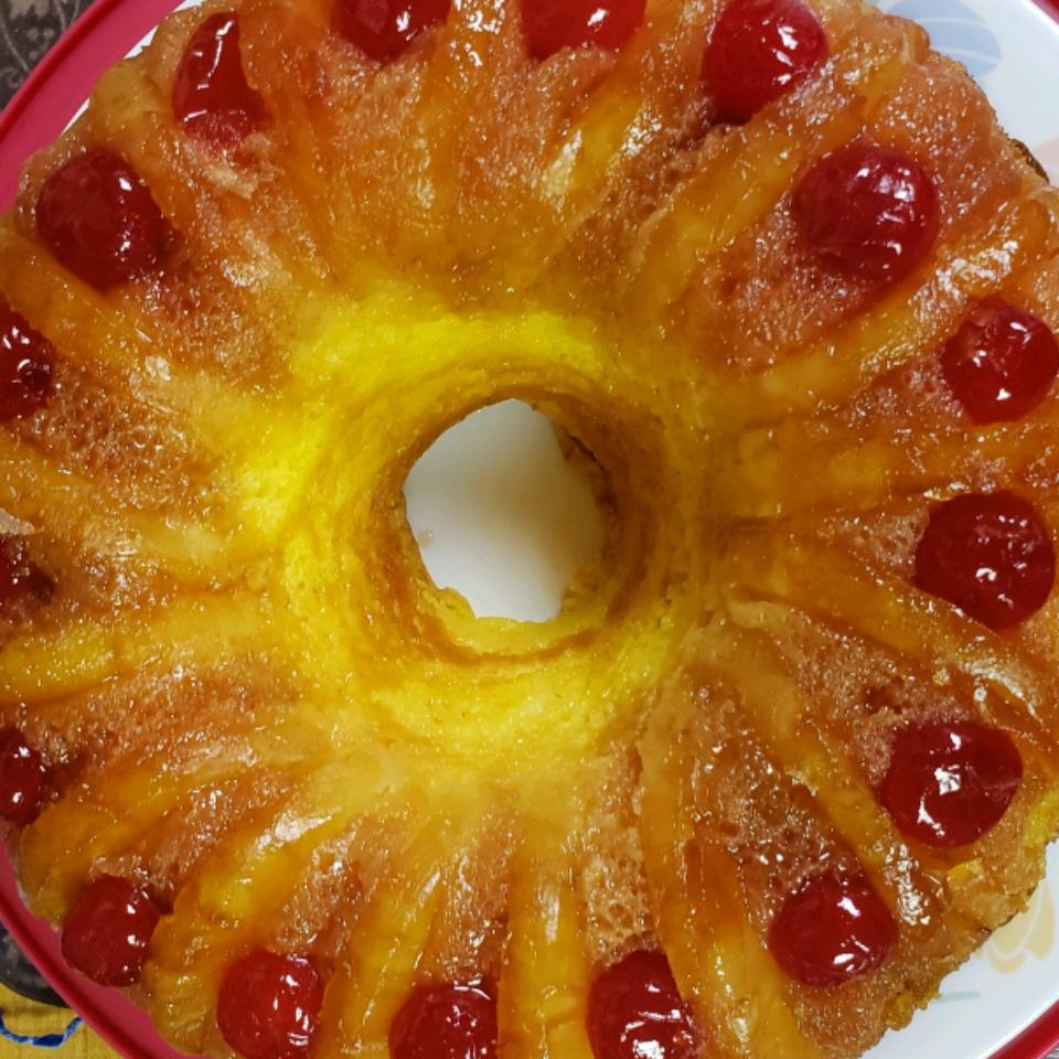 Pineapple Upside-Down Bundt® Cake Sandra Chaney