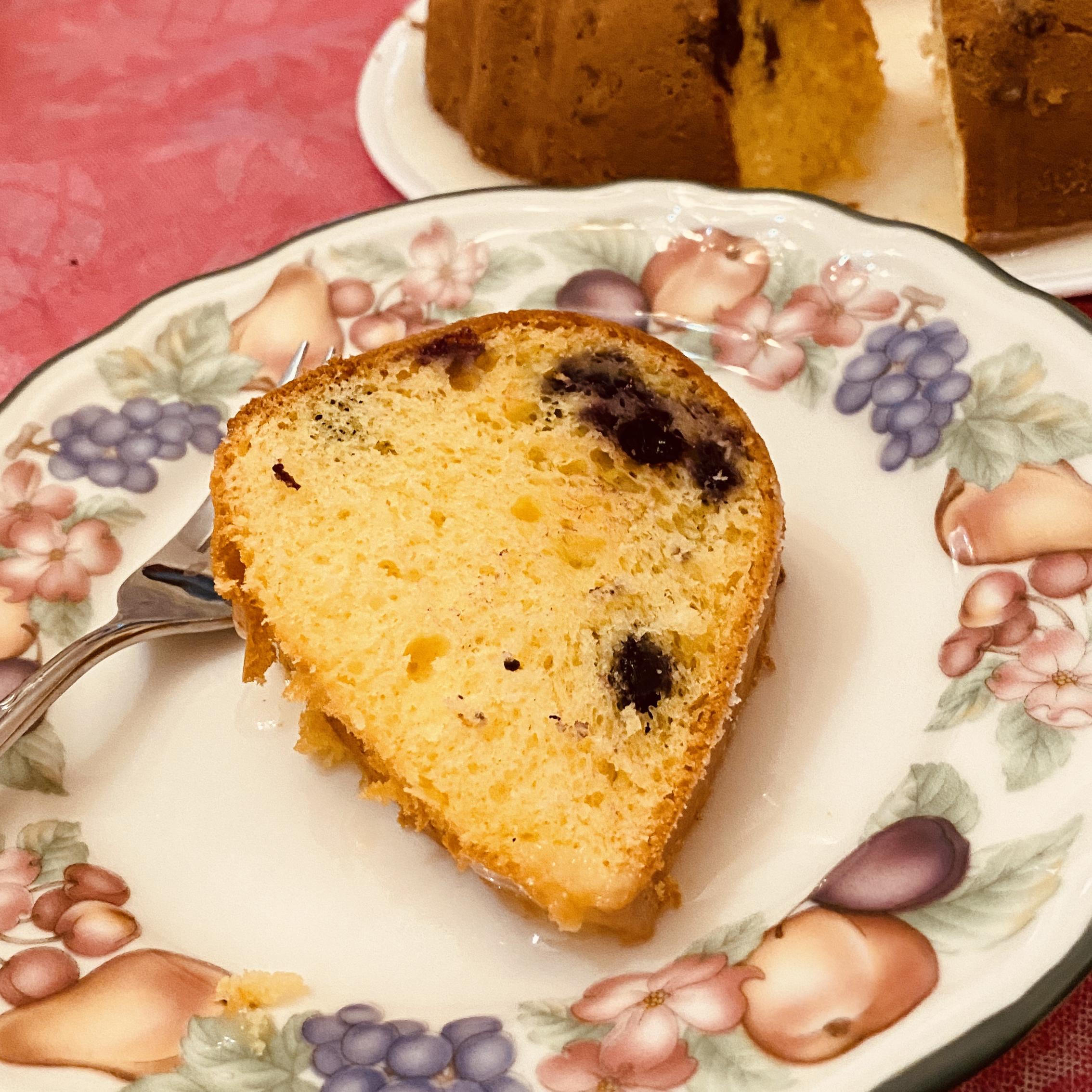 Easy Lemon-Blueberry Bundt® Cake